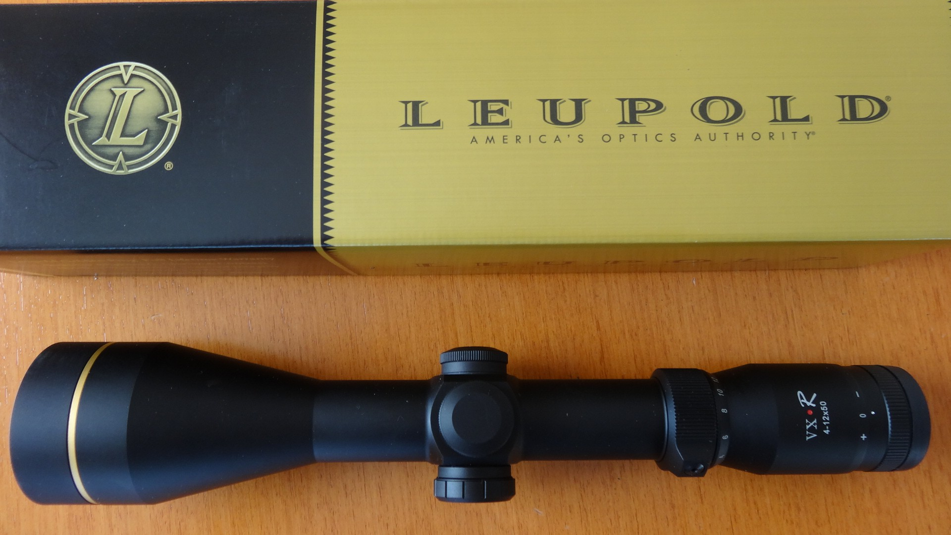Zielfernrohr:Leupold 4-12x50 VX-R,beleuchtet.