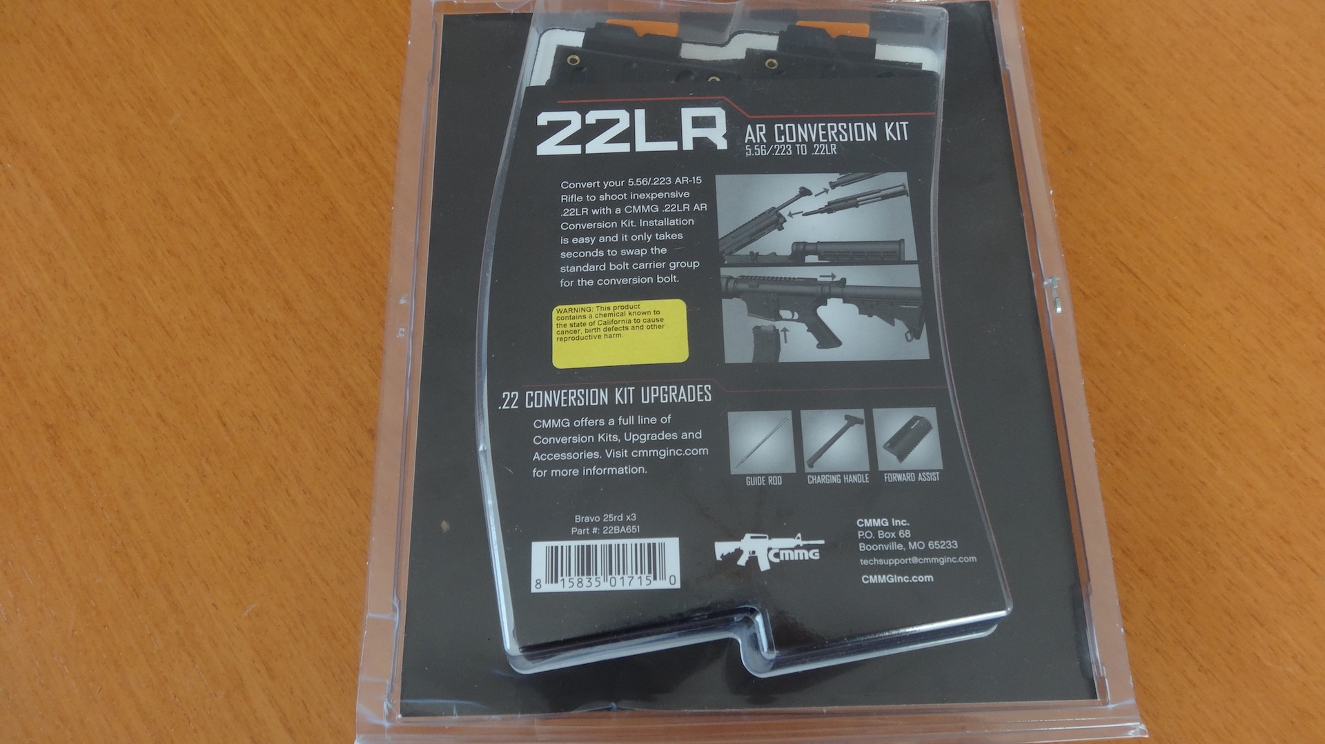 AR-15 - 22LR BRAVO CONVERSION KITS