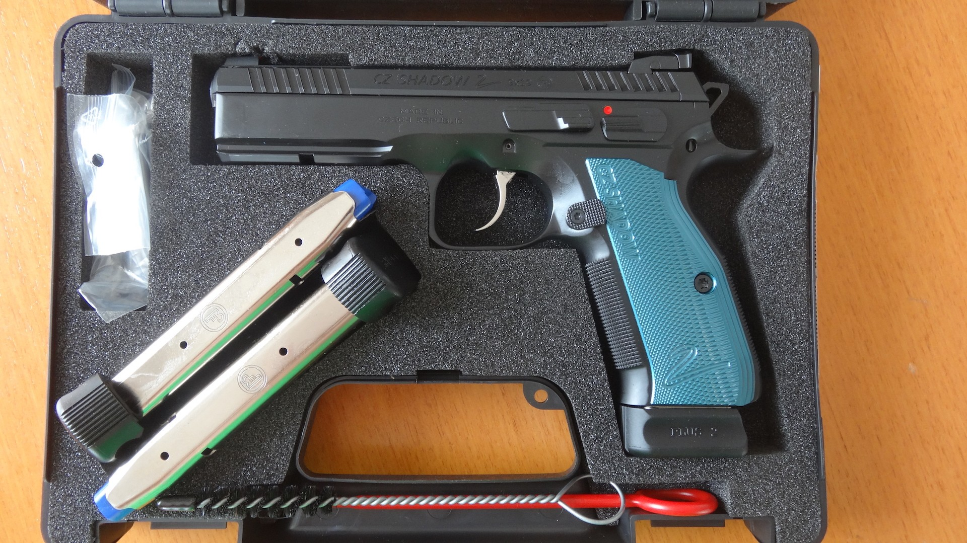 SL-Pistole CZ 75 SP-01 Shadow II (blau)