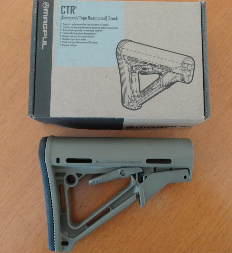 Magpul CTR Hinterschaft MIL-Spec/Flat Dark Earth