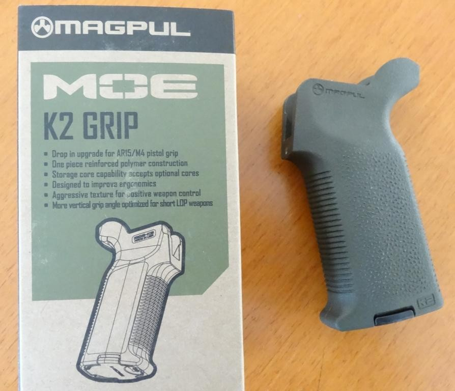Magpul MOE-K2 Griff für alle AR15/M4 in Olive Darb Green