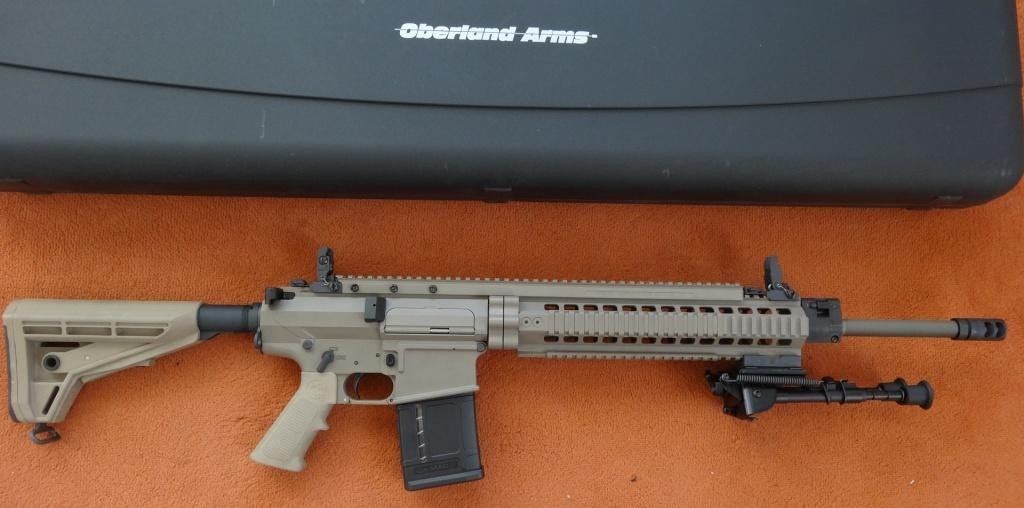 SL-Büchse: Oberland Arms OA 10 DMR-E .308 Win in Dark Earth Brown