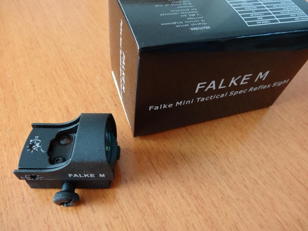 Falke M-Mini-Red-Dot- Leuchtpunktvisier