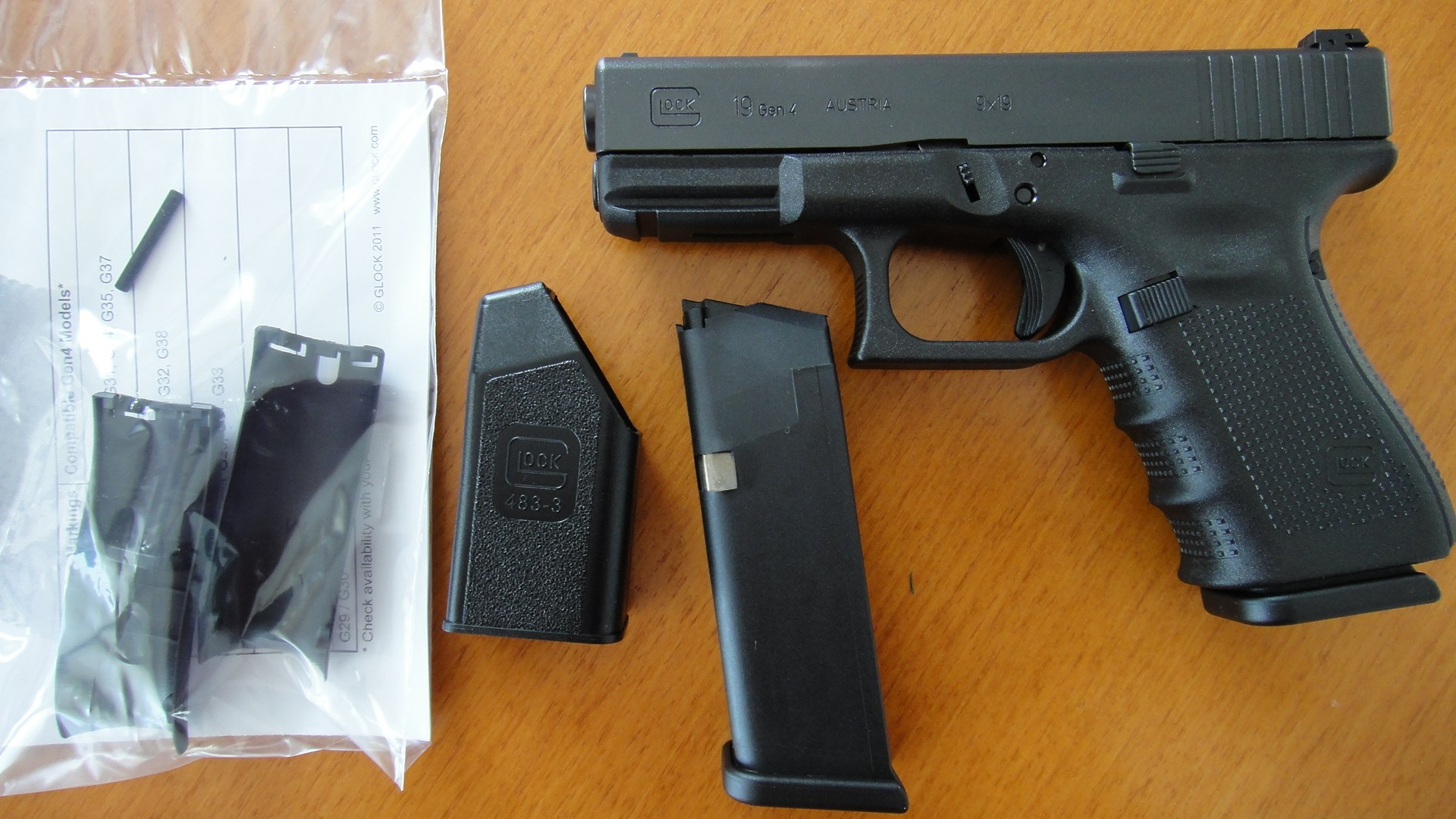 Glock 19-Generation 4 (9mm)