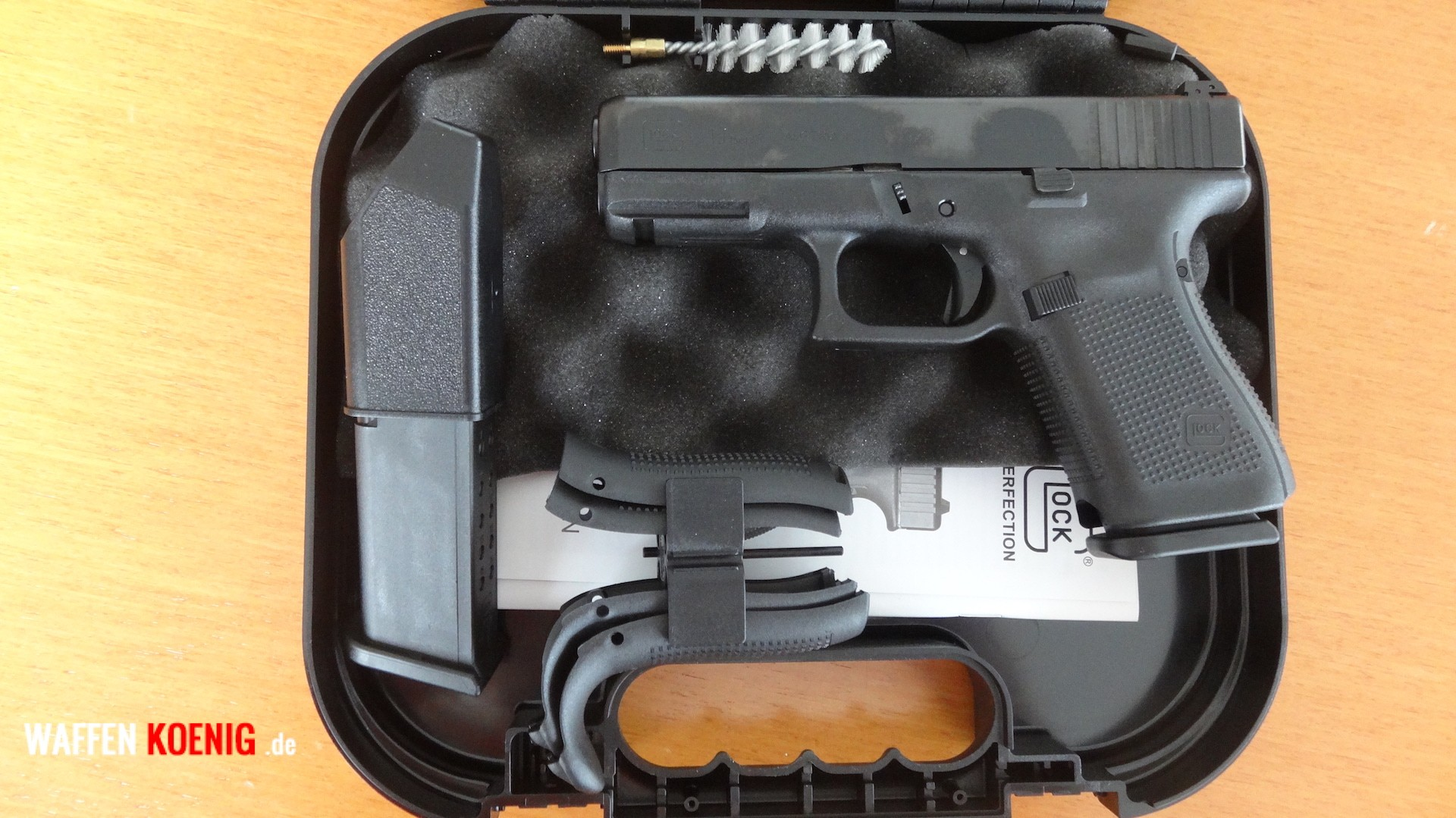 Brandneu: Glock 17 Generation 5 - Cal. 9x19 mm
