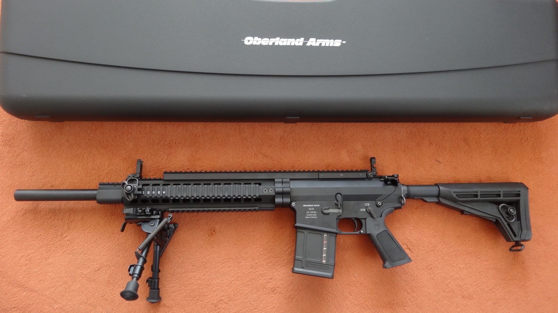 SL-Büchse Oberland Arms: OA-10 DMR-BB (Bull Barrel) Black .Cal. 308 Win.