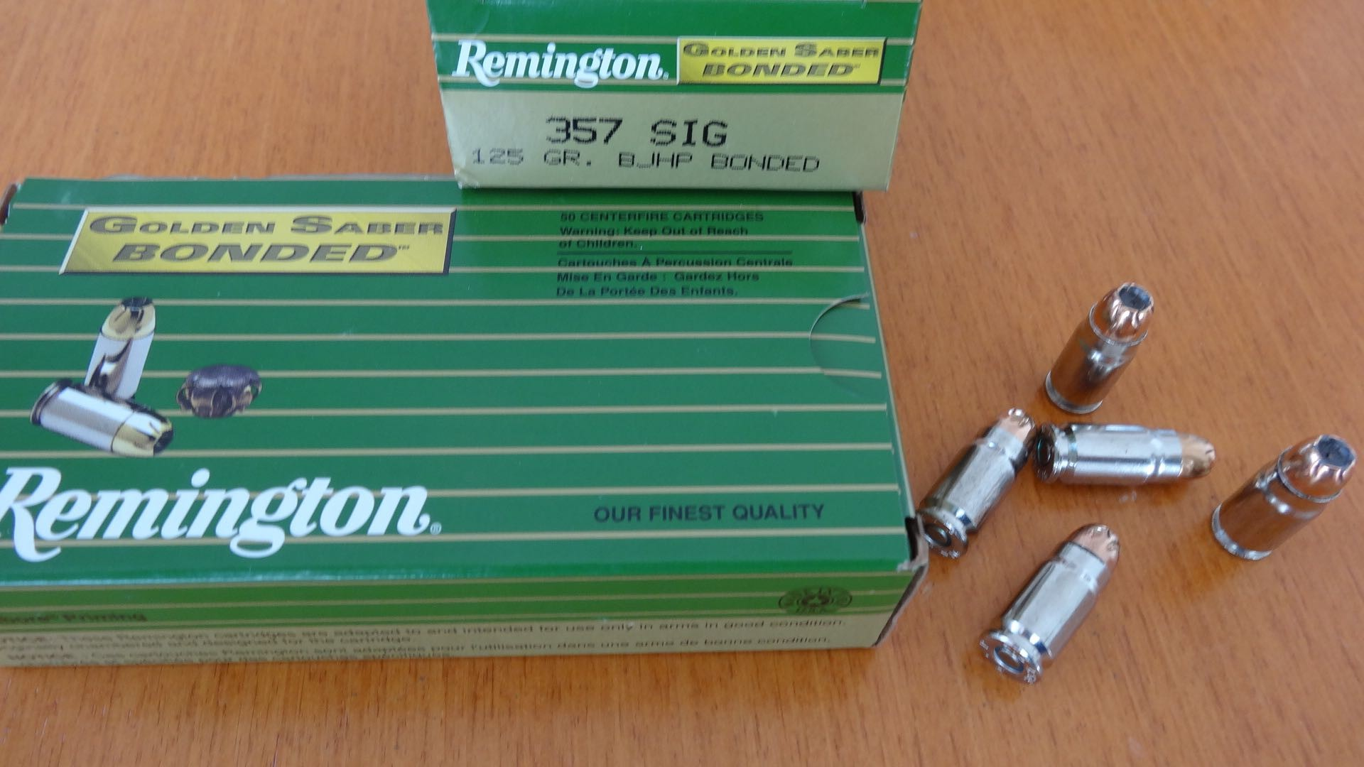 Remington Golden Saber Bonded .357 Sig. 125 Gr.