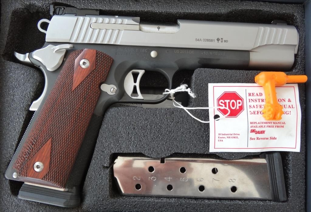 SIG Sauer, Pistole 1911 Traditional Match Elite Twotone Cal. 45 ACP